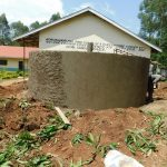 The Water Project: Hobunaka Primary School -  Exterior Cement Work