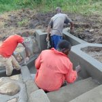 The Water Project: Emurumba Community, Makokha Spring -  Artisan Team At Work