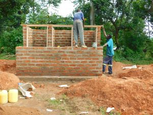 The Water Project:  Framing Latrines