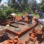 The Water Project: Chiliva Primary School -  Latrine Brickwork