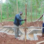 The Water Project: Imusutsu Community, Ikosangwa Spring -  Fencing