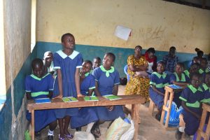 The Water Project:  Reaction From A Pupil