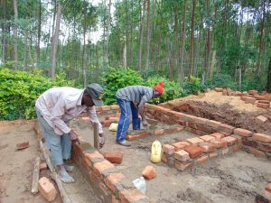 The Water Project:  Bricklaying For Vip Latrines