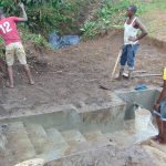 The Water Project: Mubinga Community, Mulutondo Spring -  Backfilling With Soil
