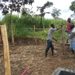 The Water Project: Kalenda B Community, Lumbasi Spring -  Fencing