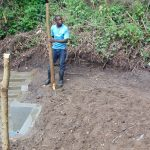 The Water Project: Mubinga Community, Mulutondo Spring -  Building Fence