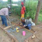 The Water Project: Bukhaywa Community, Shidero Spring -  Slab Construction