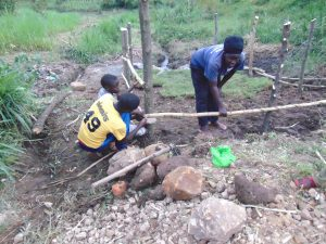 The Water Project:  Chv Grace Aswani Fencing