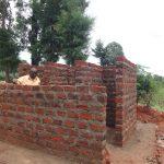 The Water Project: Chiliva Primary School -  Latrine Stalls Take Shape