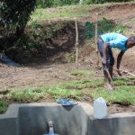 The Water Project: Mubinga Community, Mulutondo Spring -  Grass Planting