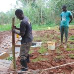 The Water Project: Kitulu Community, Kiduve Spring -  Fencing