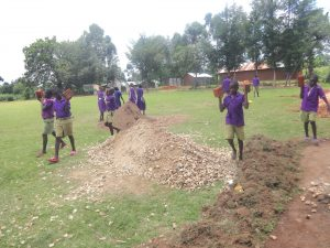 The Water Project:  Pupils Deliver Bricks