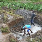 The Water Project: Kalenda A Community, Webo Simali Spring -  Excavation