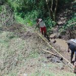 The Water Project: Mubinga Community, Mulutondo Spring -  Foundation Measurements