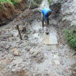 The Water Project: Maondo Community, Ambundo Spring -  Excavation