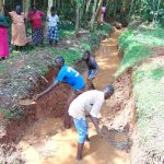 The Water Project: Kitulu Community, Kiduve Spring -  Excavation
