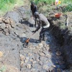 The Water Project: Emurumba Community, Makokha Spring -  Excavation