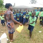 The Water Project: Khwihondwe SA Primary School -  Handwashing Session