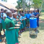 The Water Project: Bumbo Primary School -  Handwashing Training