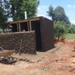 The Water Project: Chiliva Primary School -  Cementing Latrines