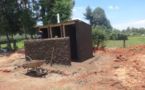 The Water Project:  Cementing Latrines