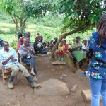 The Water Project: Musiachi Community, Mutuli Spring -  Handwashing Session