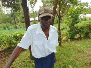 The Water Project:  Mr Aggrey Lusimba