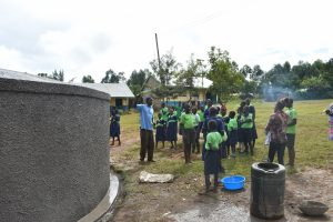 The Water Project:  Students Learn About The Tank