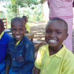 The Water Project: Saride Primary School -  Pupils Proudly Show Off Their Teeth During Dental Hygiene Session