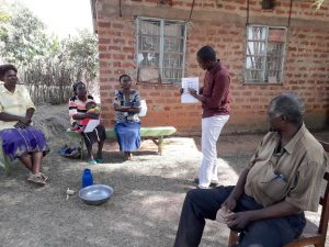 The Water Project:  Trainer Samuel In Action