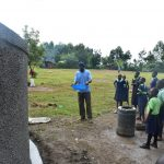 The Water Project: Khwihondwe SA Primary School -  Students Learn About Curing Process