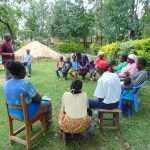 The Water Project: Mukangu Community, Metah Spring -  Mr Lusimbas Son Speaks