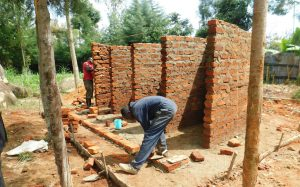 The Water Project:  Stalls Take Shape