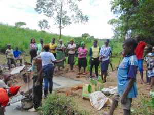 The Water Project:  Trainer Jemmimah Leads Site Management Training