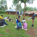 The Water Project: Imusutsu Community, Ikosangwa Spring -  Community Members Lead At Training