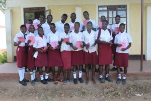 The Water Project:  Smiles After Completing Training