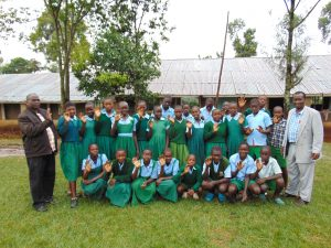 The Water Project:  Pupils And Staff Pose After Training