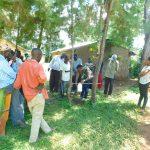 The Water Project: Namarambi Community, Iddi Spring -  Setting Up Tippy Tap