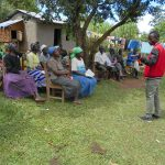 The Water Project: Kalenda B Community, Lumbasi Spring -  Training Continues