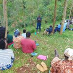 The Water Project: Kitulu Community, Kiduve Spring -  Trainer Samuel Introduces Himself