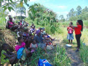 The Water Project:  Georgina Leads Handwashing
