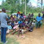The Water Project: Emurumba Community, Makokha Spring -  Training Begins