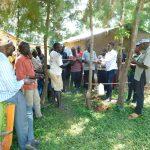 The Water Project: Namarambi Community, Iddi Spring -  Learning Handwashing Steps