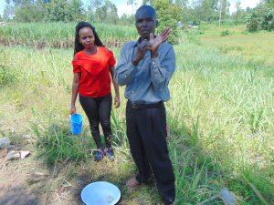 The Water Project:  Handwashing Volunteer