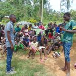 The Water Project: Emurumba Community, Makokha Spring -  Toothbrushing Session