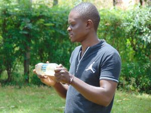 The Water Project:  Samuel Explains Solar Disinfection