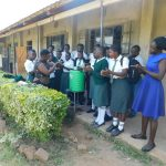 The Water Project: Sawawa Secondary School -  Handwashing Demonstration