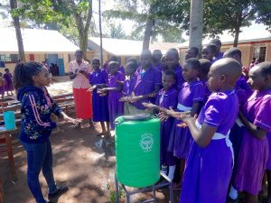 The Water Project:  Handwashing Steps