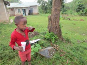 The Water Project:  Toothbrushing Volunteer