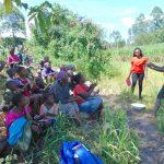 The Water Project: Bukhaywa Community, Shidero Spring -  Handwashing Volunteer